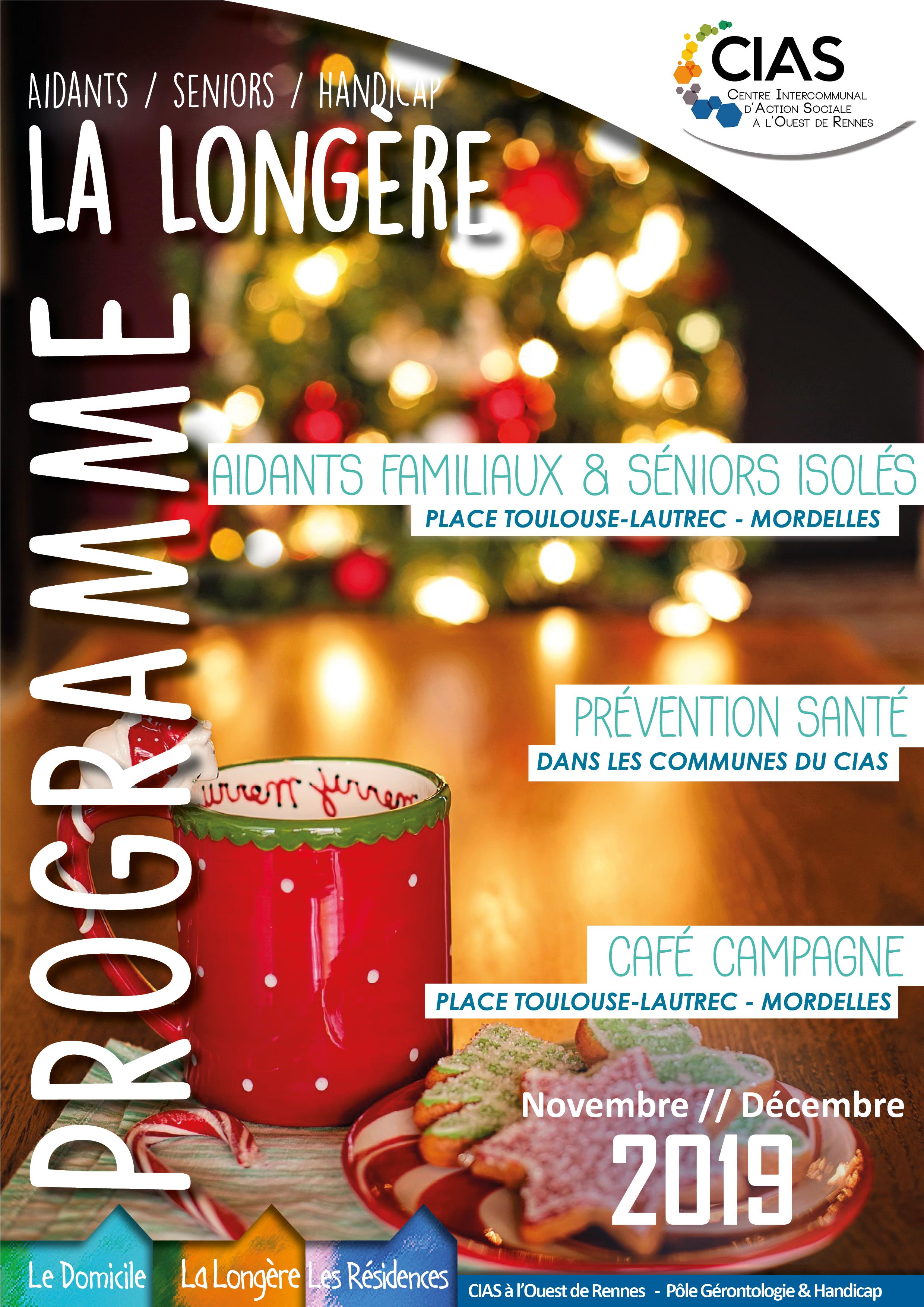 Novembre-Décembre Programme La Longère 2019