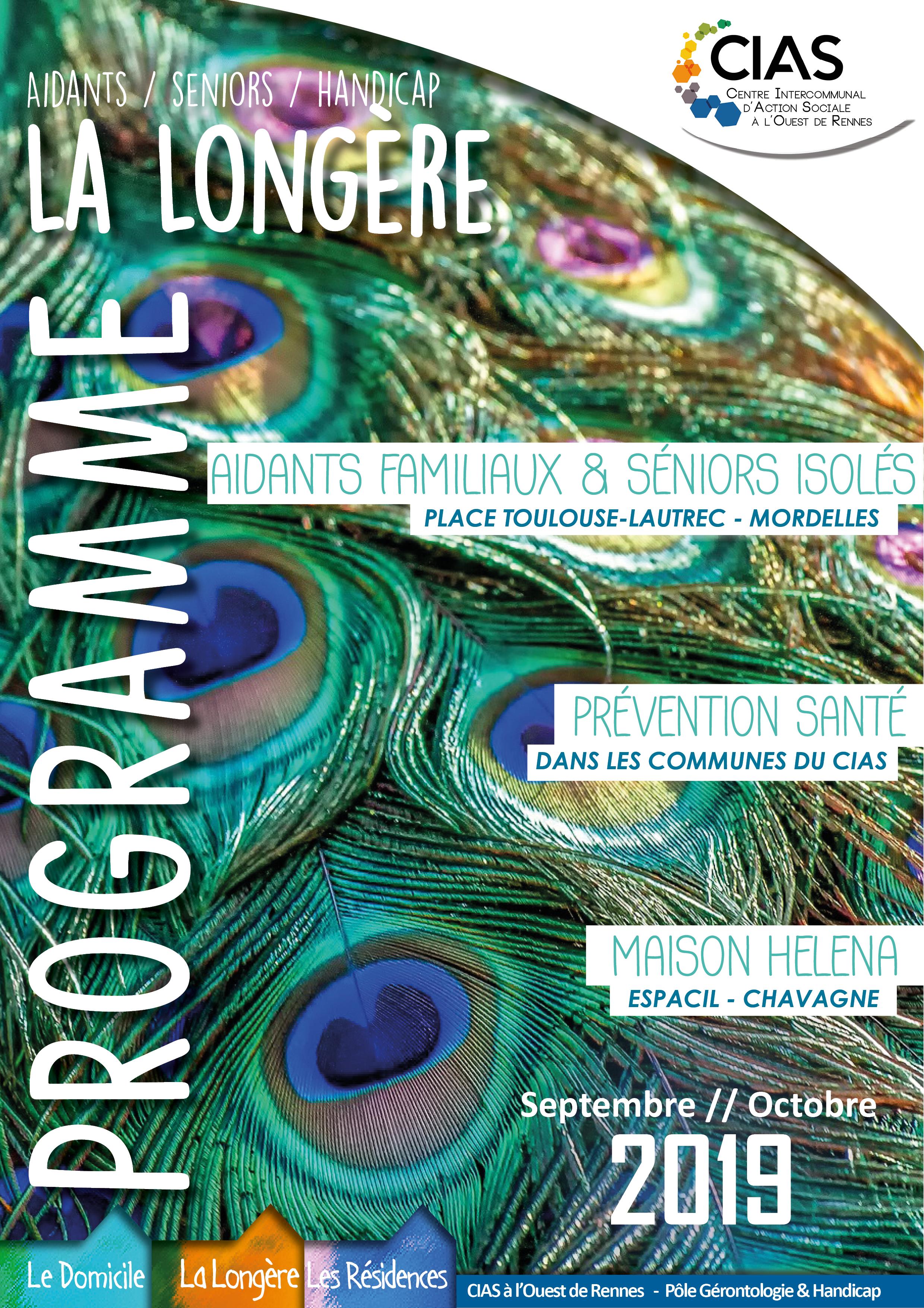 Septembre-Octobre Programme La Longère 2019