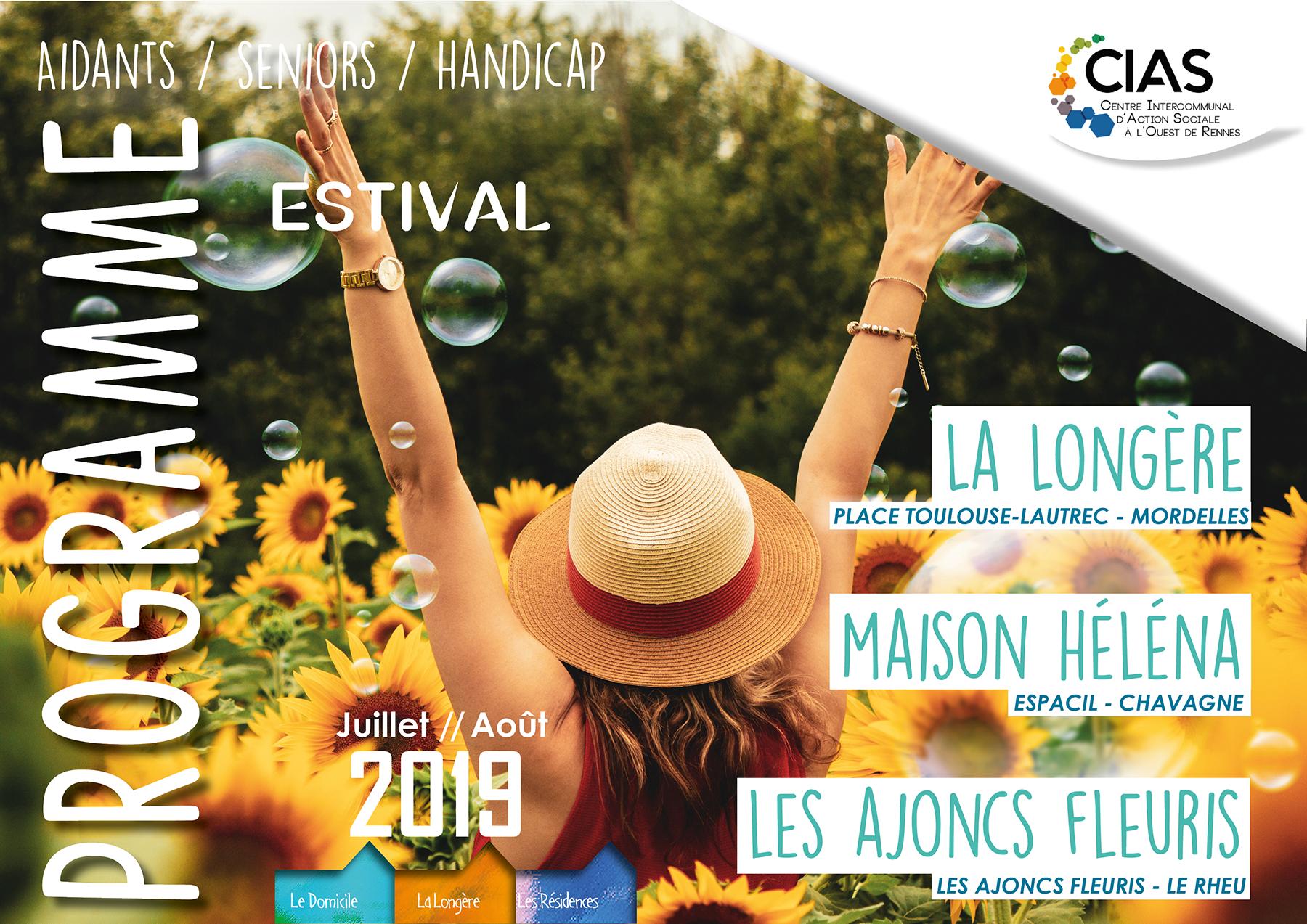 Juillet -Août Programme La Longère 2019