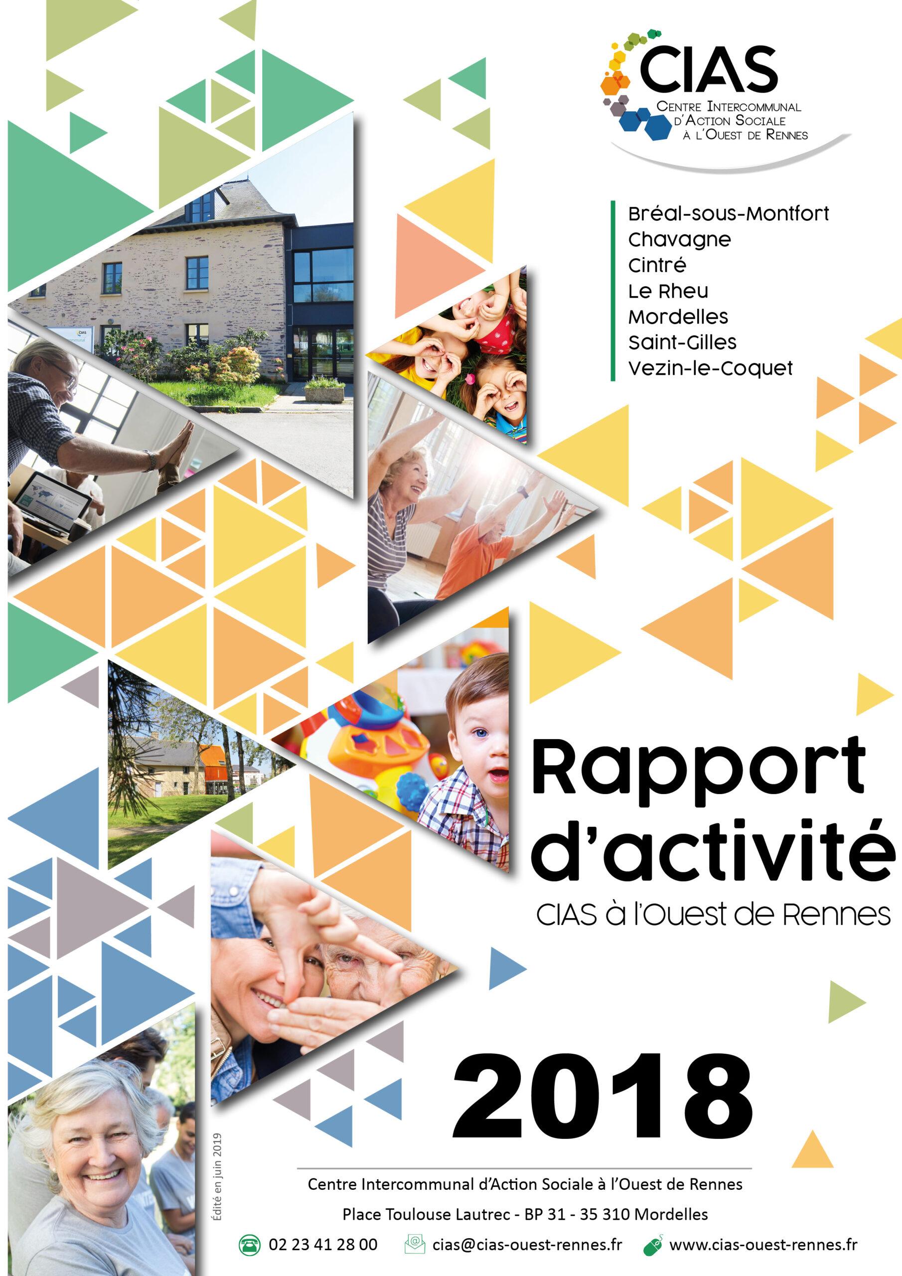 Rapport d'activité 2018 CIAS à l'Ouest de Rennes