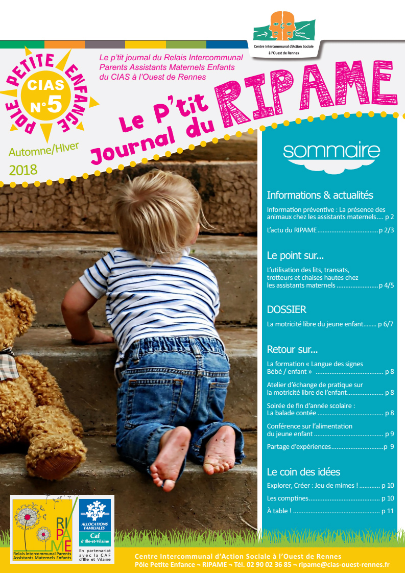 P'tit Journal du RIPAME n°5