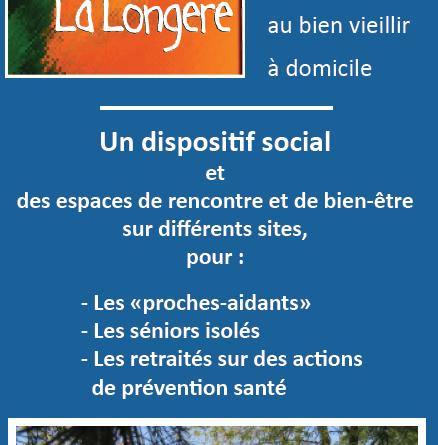 plaquette La Longere du CIAS à l'Ouest de Rennes