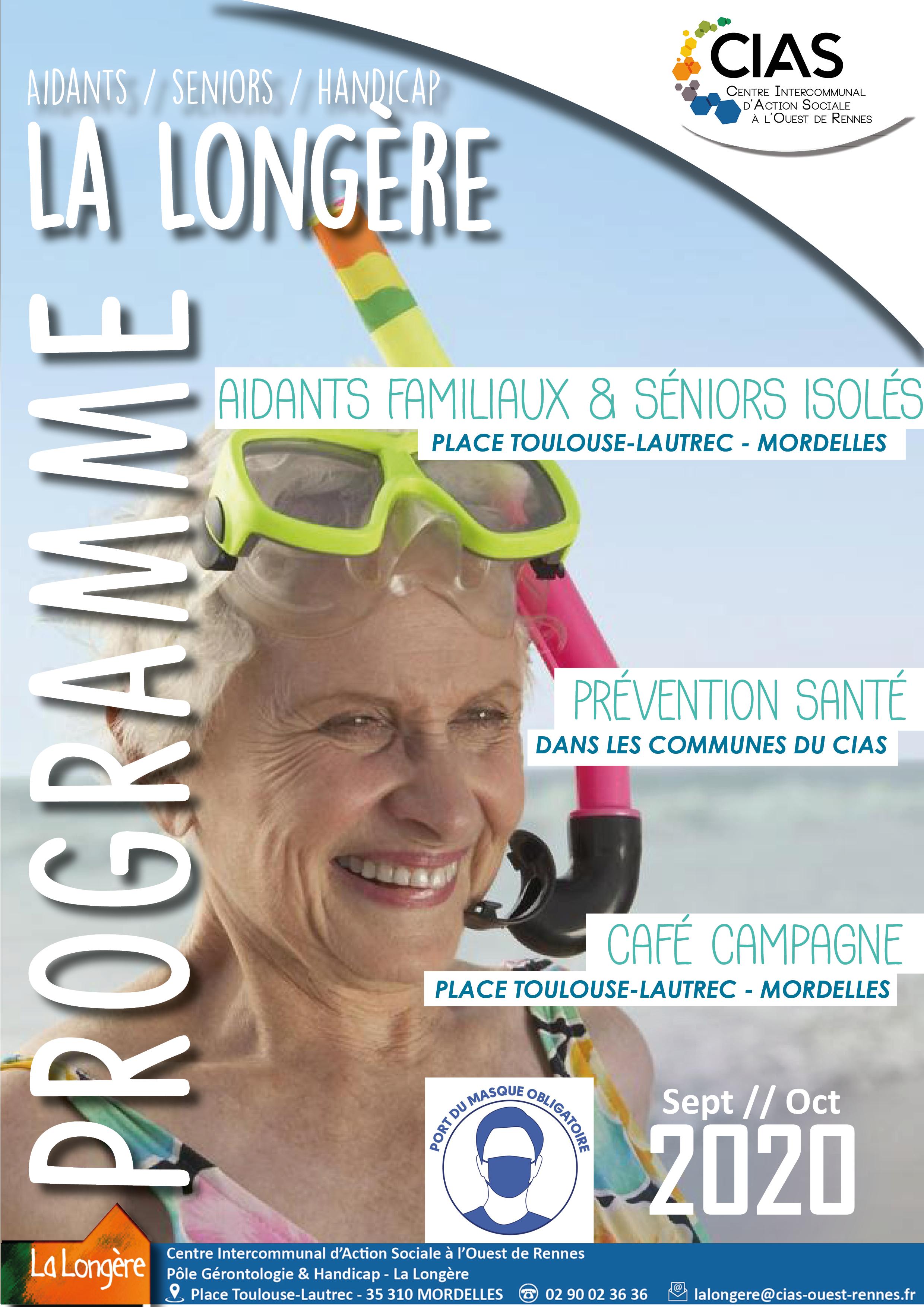 Programme Septembre - Octobre 2020 La Longère du CIAS à l'Ouest de Rennes