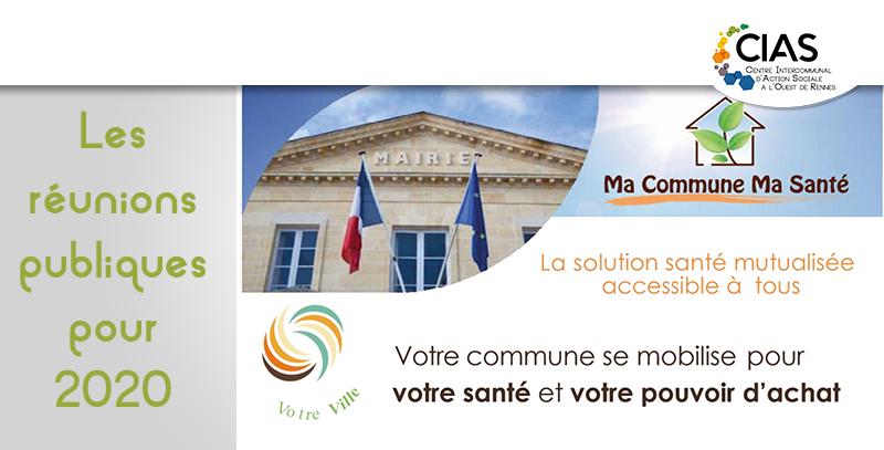 Ma commune, ma santé 2020 Actiom CIAS à l'Ouest de Rennes