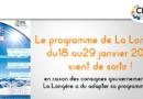 Programme du 18 au 29 janvier 2021 de la Longère du CIAS