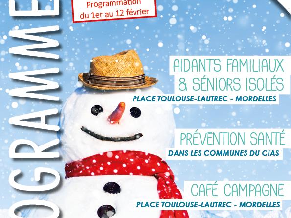 Programme du 1er au 12 février La Longere du CIAS