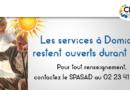 Les Services à Domiciles restent ouverts durant l'été