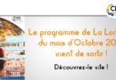Programme d'Octobre de la Longère du CIAS